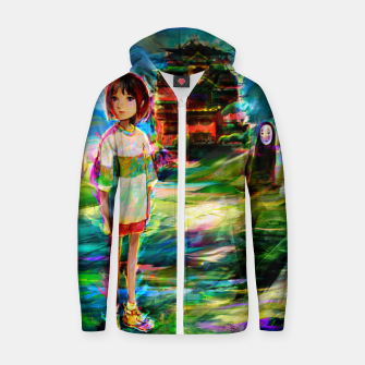 Miniaturka spirited away Zip up hoodie, Live Heroes