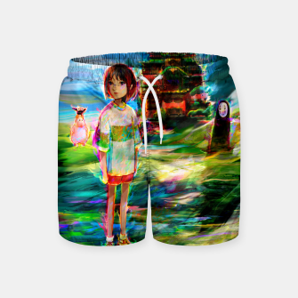 Miniaturka spirited away Swim Shorts, Live Heroes