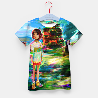 Miniaturka spirited away Kid's t-shirt, Live Heroes