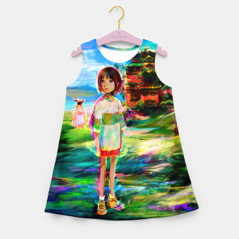 spirited away Girl's summer dress obraz miniatury