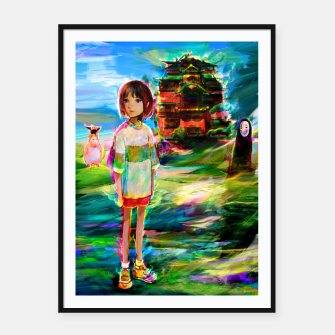 spirited away Framed poster obraz miniatury