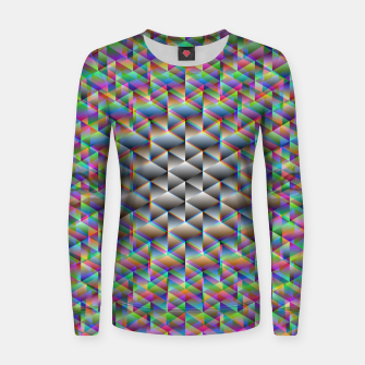 Thumbnail image of Seamless Freakiness Women sweater, Live Heroes