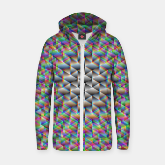 Thumbnail image of Seamless Freakiness Zip up hoodie, Live Heroes