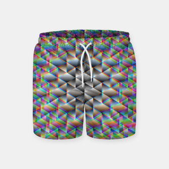 Thumbnail image of Seamless Freakiness Swim Shorts, Live Heroes