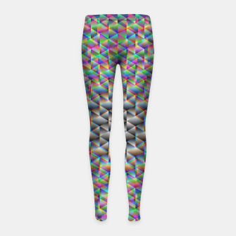 Thumbnail image of Seamless Freakiness Girl's leggings, Live Heroes