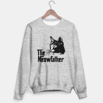 Thumbnail image of The meowfather Sweater regular, Live Heroes