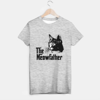 Thumbnail image of The meowfather T-shirt regular, Live Heroes