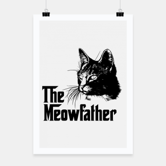 Thumbnail image of The meowfather Poster, Live Heroes