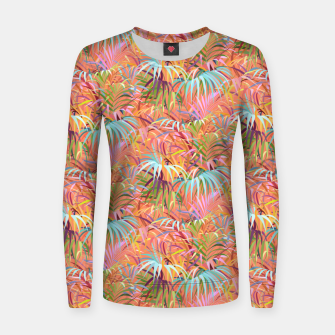 Thumbnail image of Tropical Mood of the Coral Season Women sweater, Live Heroes