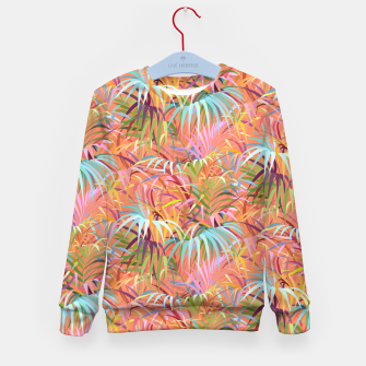 Miniature de image de Tropical Mood of the Coral Season Kid's sweater, Live Heroes