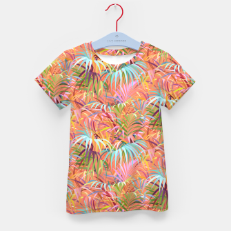 Miniaturka Tropical Mood of the Coral Season Kid's t-shirt, Live Heroes