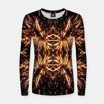 Thumbnail image of Light Explosions Frauen sweatshirt, Live Heroes