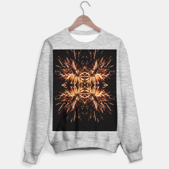 Thumbnail image of Light Explosions Sweatshirt regulär, Live Heroes