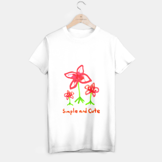 Miniaturka Simple and Cute Drawing T-shirt regular, Live Heroes