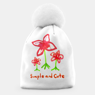 Miniaturka Simple and Cute Drawing Beanie, Live Heroes