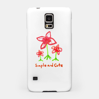 Miniaturka Simple and Cute Drawing Samsung Case, Live Heroes
