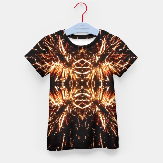 Thumbnail image of Light Explosions T-Shirt für kinder, Live Heroes