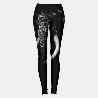 Thumbnail image of Elegant Elephant Leggings, Live Heroes