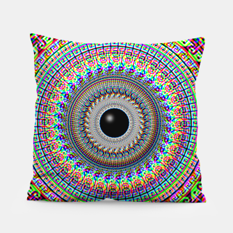 Thumbnail image of Geometric Acid Pillow, Live Heroes