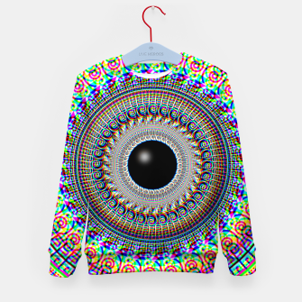 Thumbnail image of Geometric Acid Kid's sweater, Live Heroes