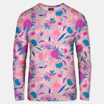 Thumbnail image of Floral Pattern #3 Unisex sweater, Live Heroes