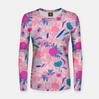 Thumbnail image of Floral Pattern #3 Women sweater, Live Heroes