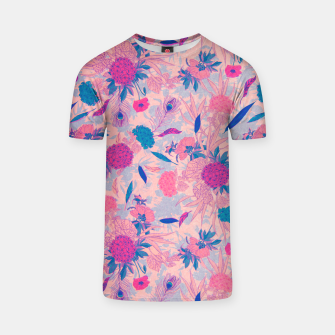 Thumbnail image of Floral Pattern #3 T-shirt, Live Heroes