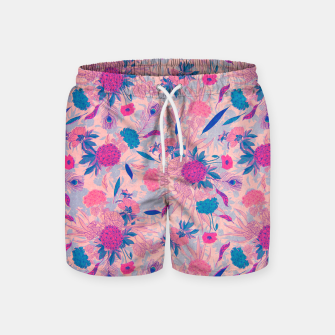 Thumbnail image of Floral Pattern #3 Swim Shorts, Live Heroes