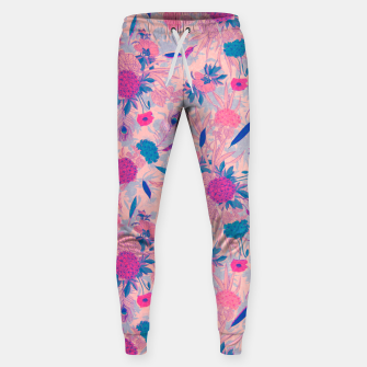 Thumbnail image of Floral Pattern #3 Sweatpants, Live Heroes