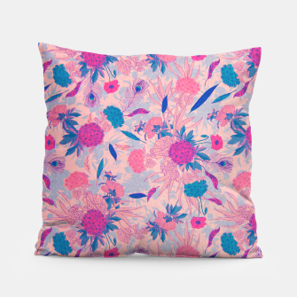 Thumbnail image of Floral Pattern #3 Pillow, Live Heroes