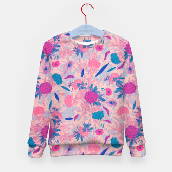 Thumbnail image of Floral Pattern #3 Kid's sweater, Live Heroes