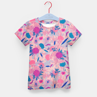 Thumbnail image of Floral Pattern #3 Kid's t-shirt, Live Heroes