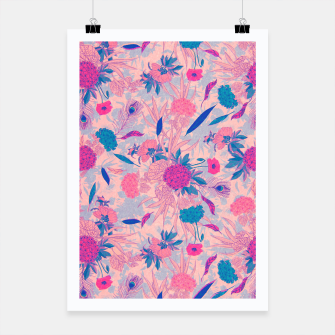 Thumbnail image of Floral Pattern #3 Poster, Live Heroes