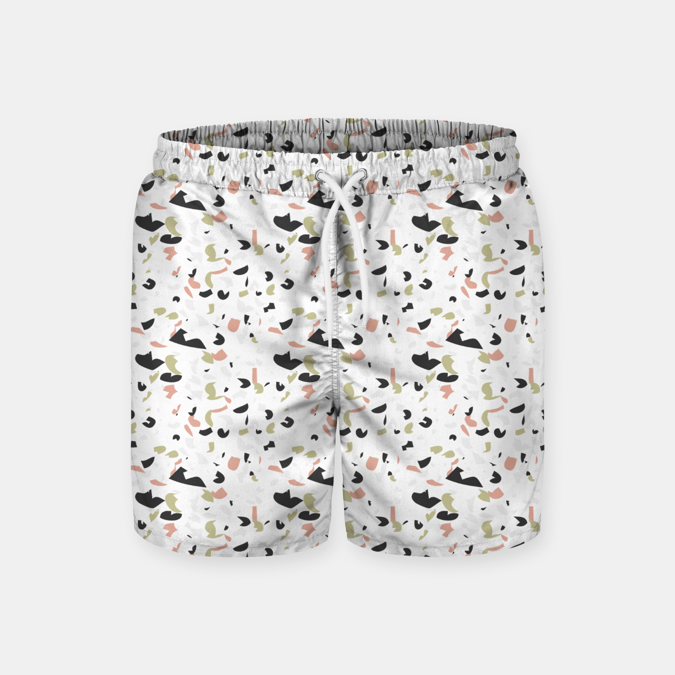 Image of Terrazzo pattern Swim Shorts - Live Heroes