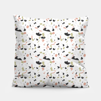 Thumbnail image of Terrazzo pattern Pillow, Live Heroes