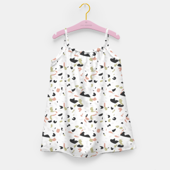 Terrazzo pattern Girl's dress thumbnail image