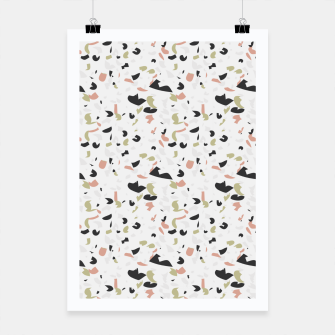 Thumbnail image of Terrazzo pattern Poster, Live Heroes