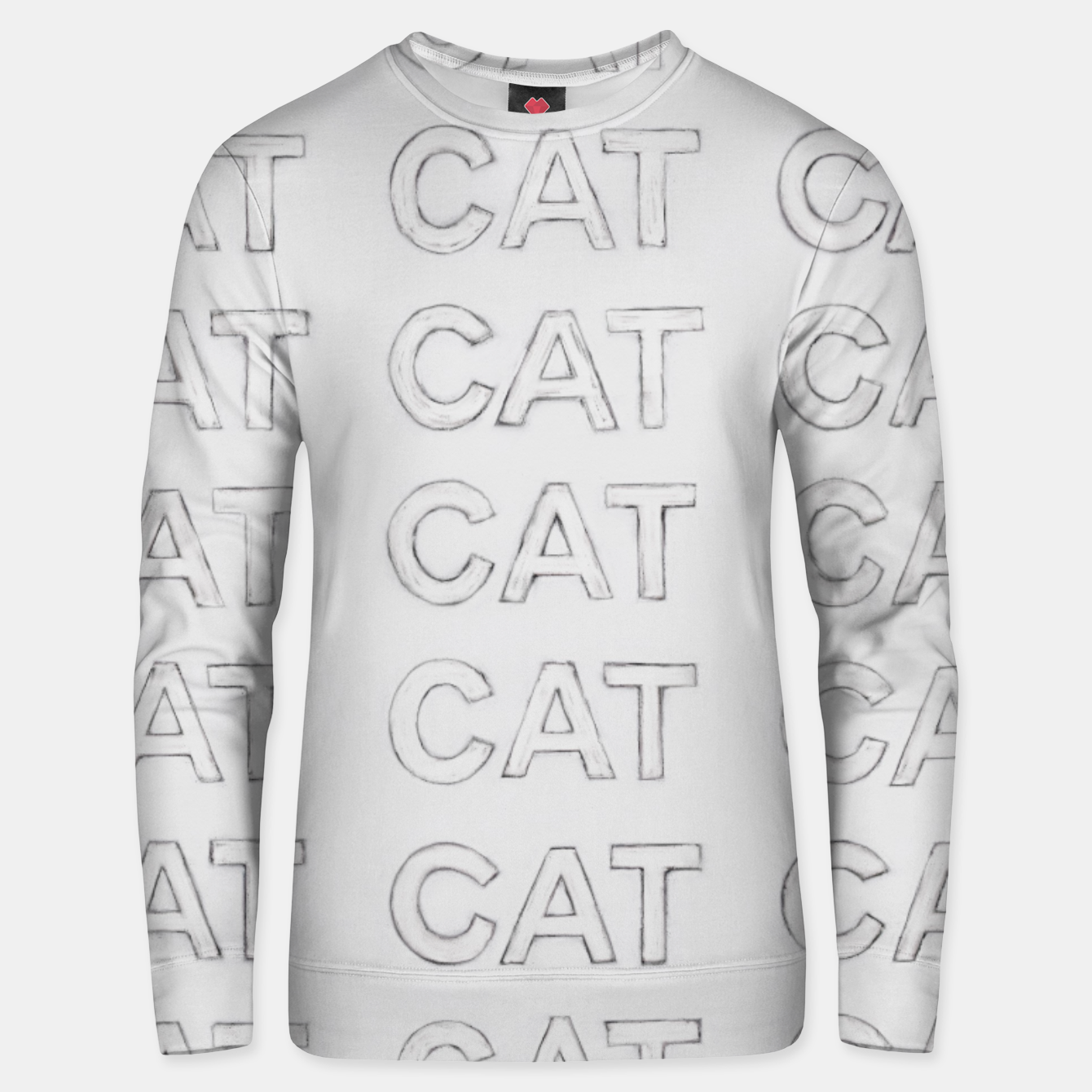 Image of Grey cats Unisex sweater - Live Heroes