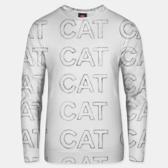 Grey cats Unisex sweater thumbnail image