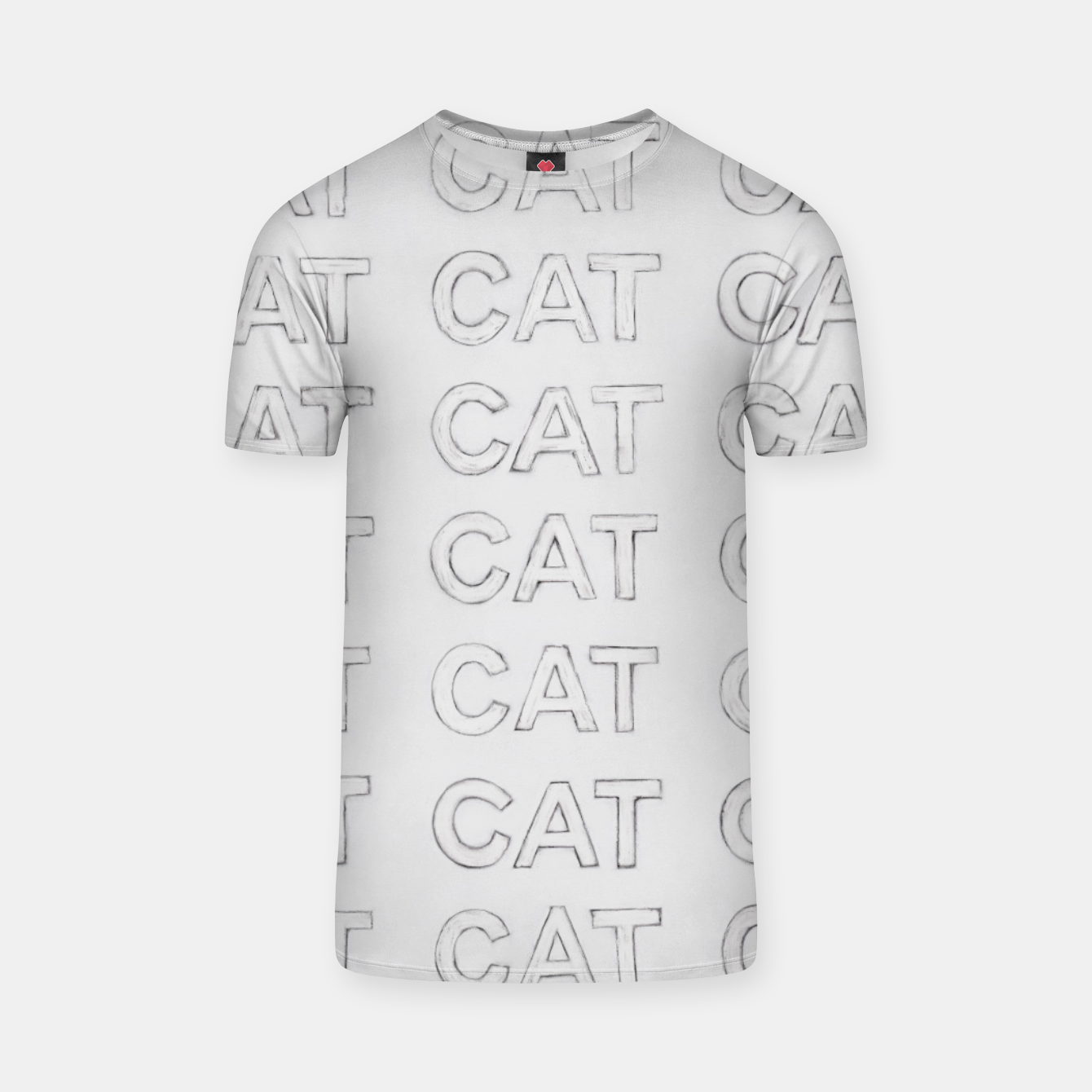 Image of Grey cats T-shirt - Live Heroes