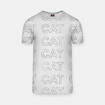 Thumbnail image of Grey cats T-shirt, Live Heroes