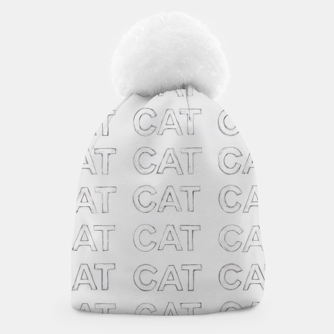 Image of Grey cats Beanie - Live Heroes