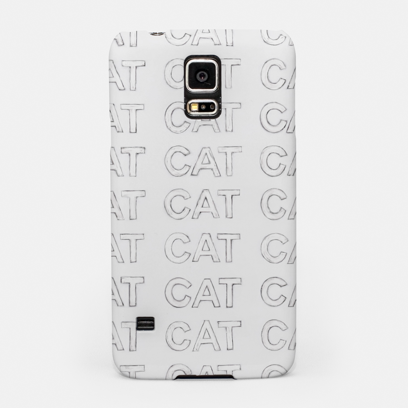 Image of Grey cats Samsung Case - Live Heroes