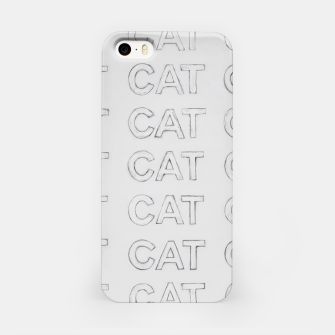 Miniatur Grey cats iPhone Case, Live Heroes