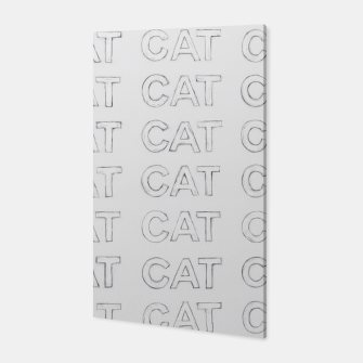 Grey cats Canvas thumbnail image