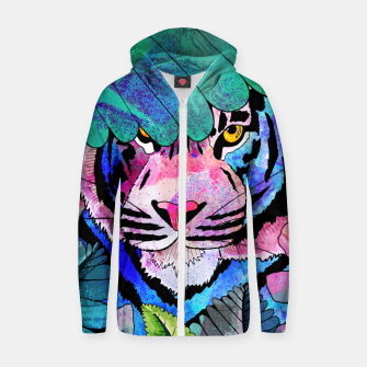 Thumbnail image of I see you! Zip up hoodie, Live Heroes