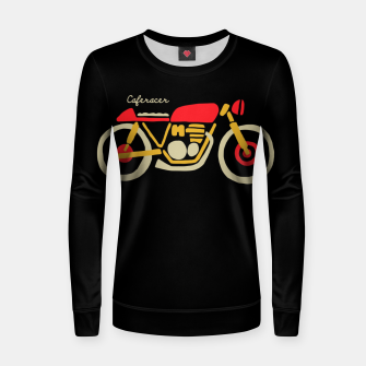 Thumbnail image of Caferacer Women sweater, Live Heroes