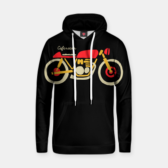 Thumbnail image of Caferacer Hoodie, Live Heroes