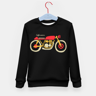 Thumbnail image of Caferacer Kid's sweater, Live Heroes