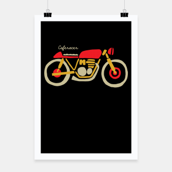 Thumbnail image of Caferacer Poster, Live Heroes